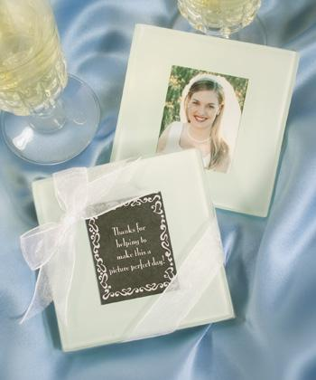 Glass Coasters With Photo Insert Wedding Favourscouk