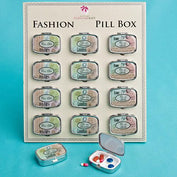Trinket Box Favours - Travel Design Pill Boxes