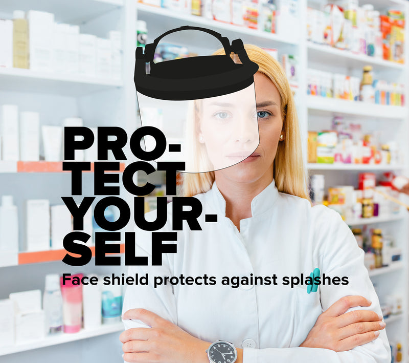 Protection against splashing