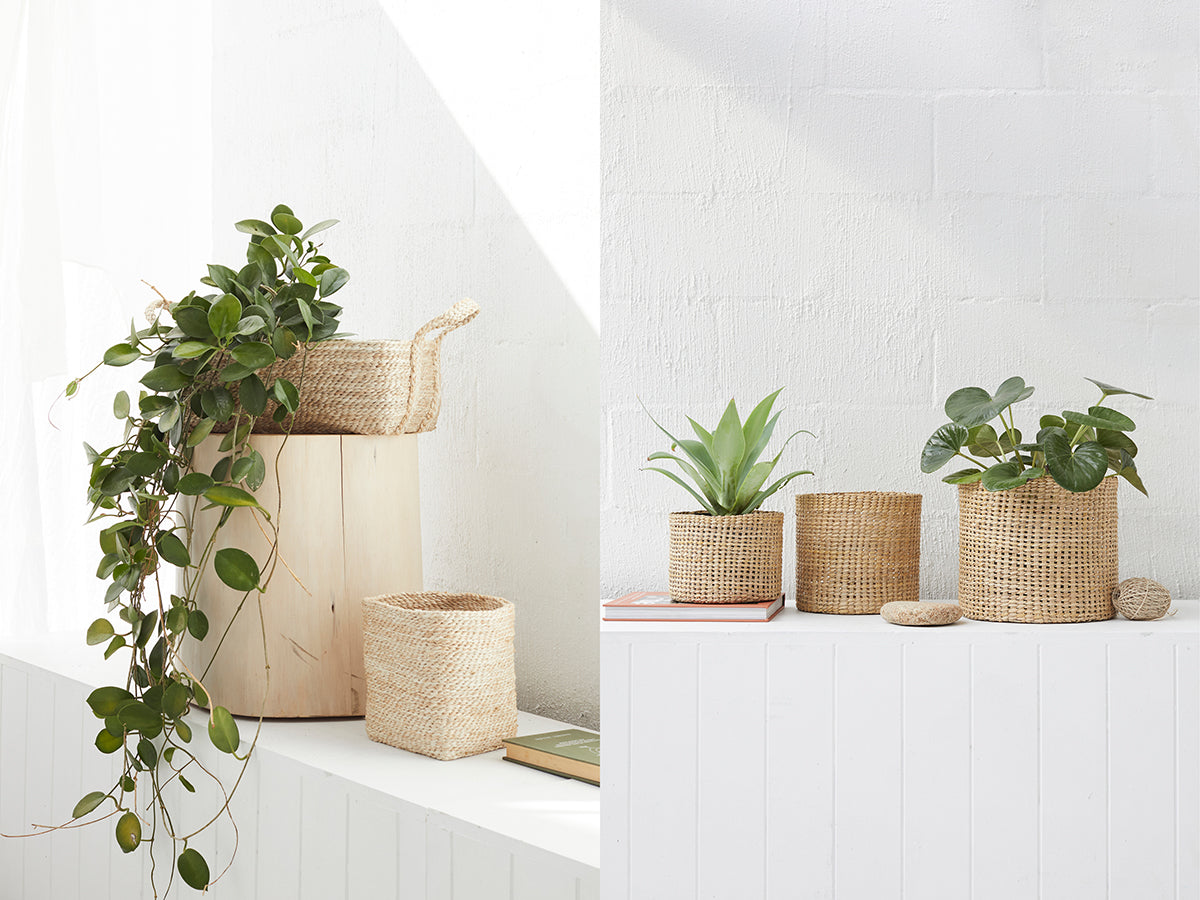Six ways to use small baskets