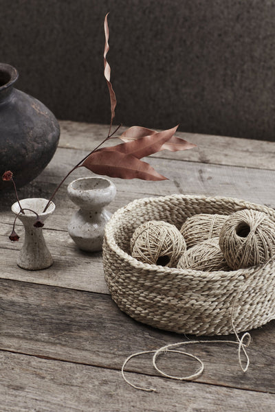 Natural Thin Hemp Twine - 2 x 50m balls
