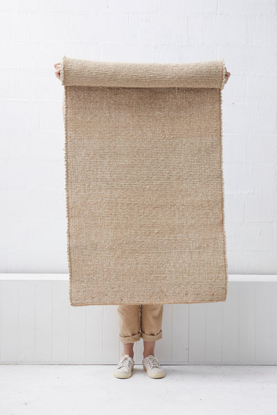 Lahari Jute Floor Runner -  Natural