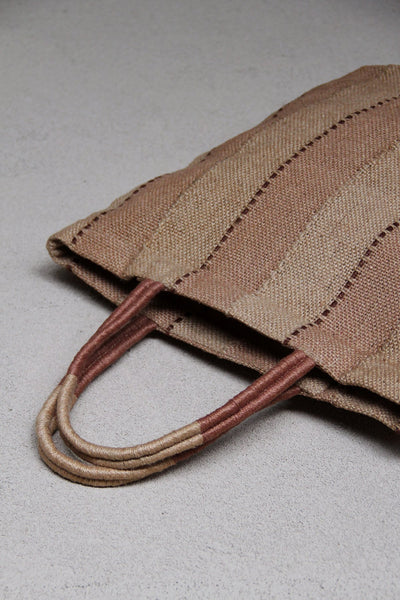 Jute Shopper  - Clay