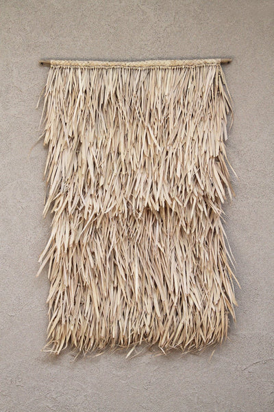 Tala Palm Leaf Wall Hanging