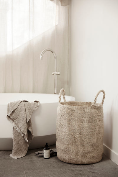 Seafarer Laundry Basket - Natural