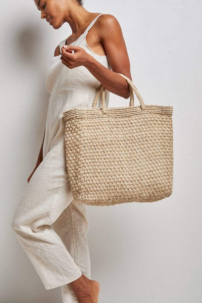 The Dharma Door Bags and Totes Jamina Shopper - Natural