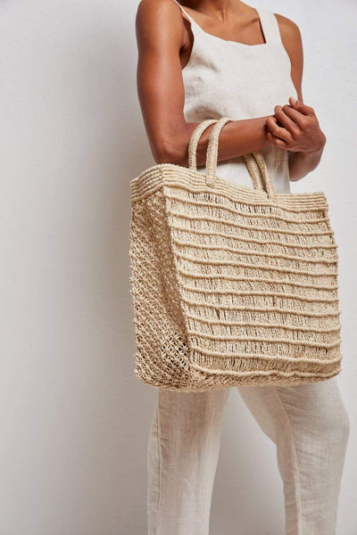The Dharma Door Bags and Totes Laina Shopper - Natural