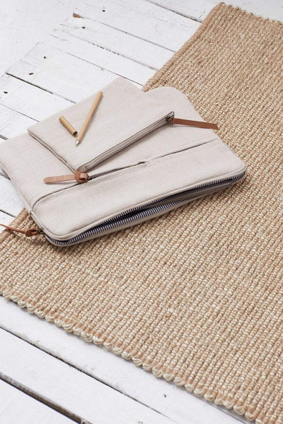 The Dharma Door Bags and Totes Laptop/iPad Bag - Bone