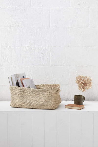 The Dharma Door Baskets and Storage Large Sona Rectangle Basket - Large