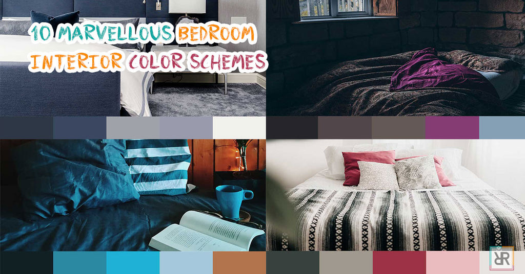 10 Marvellous bedroom interior color schemes