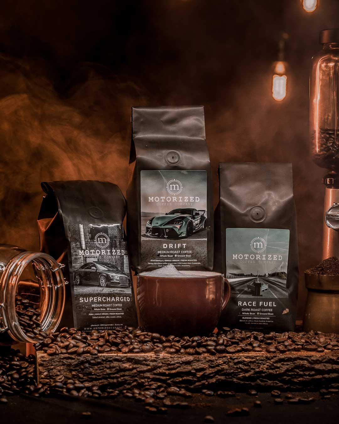 Coffee Subscription for Coffee Club - Signature, Specialty, Roast-to-Order Coffee for car and gearhead enthusiats.