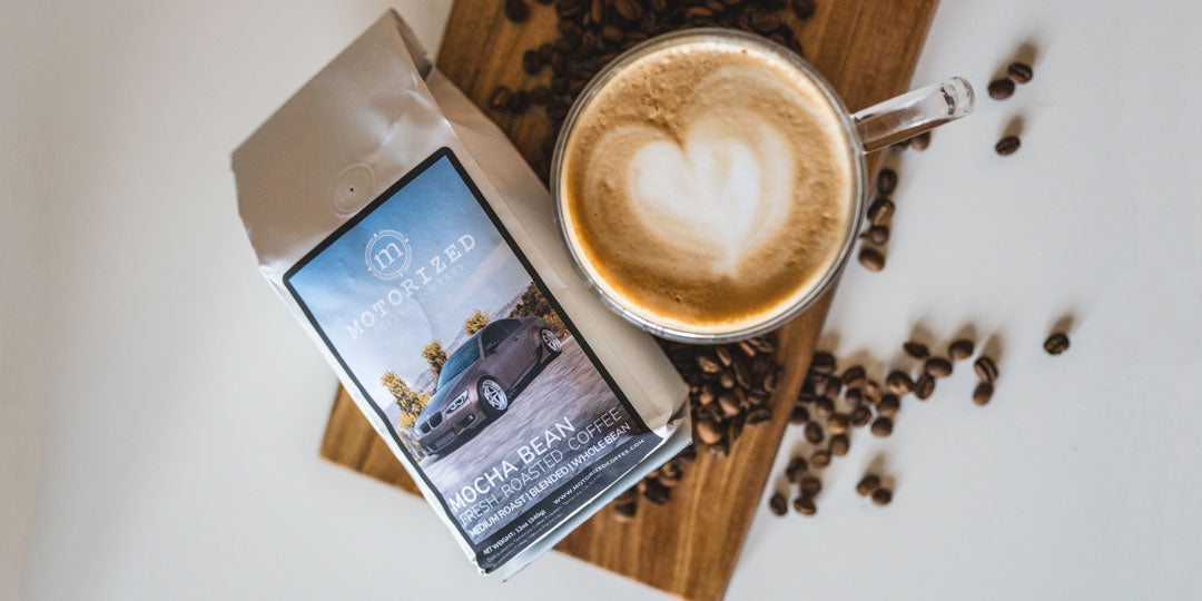 Mocha Flavored Specialty Coffee from Motorized Coffee Company