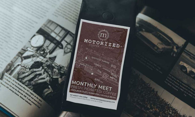 Signature specialty coffee of the month for car enthusiasts | Motorized Coffee Company