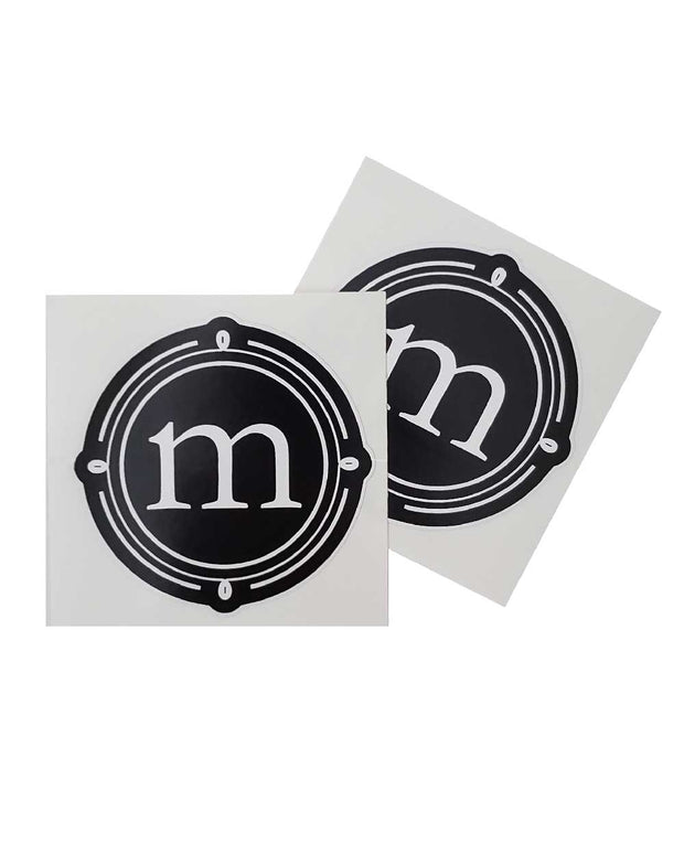 Motorized Coffee Vinyl Sticker