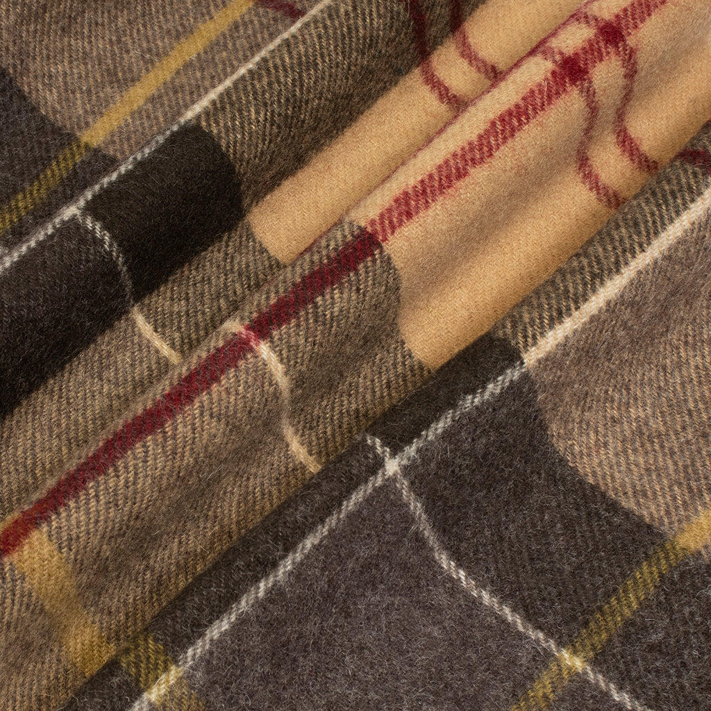 Barbour x Hikerdelic Scarf - Muted Tartan - Hikerdelic Shop