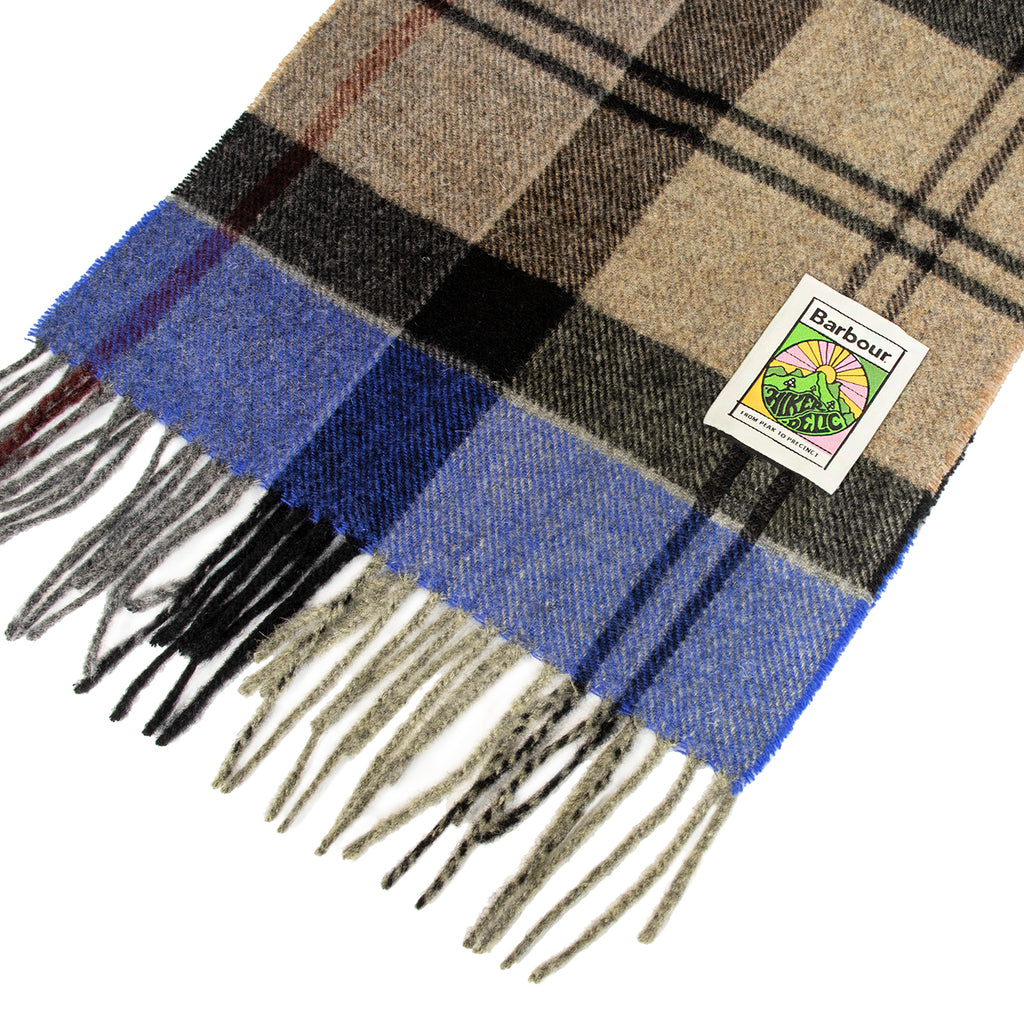 Barbour x Hikerdelic Scarf - Winter Tartan - Hikerdelic Shop