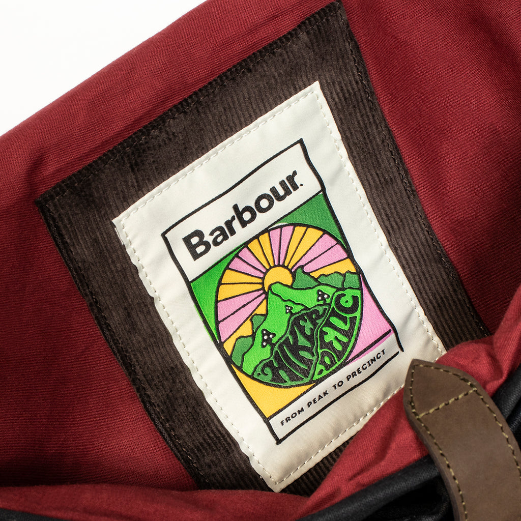 Barbour x Hikerdelic Wax Tarras Bag - Hikerdelic Shop