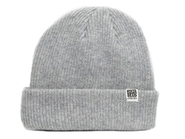 Hikerdelic Merino Wool Hat - Heather Grey - Hikerdelic Shop