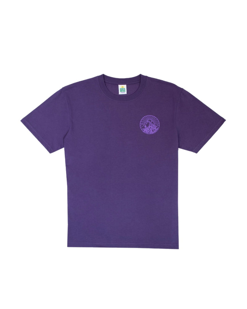 Hikerdelic Core Logo Short Sleeve T-Shirt - Purple