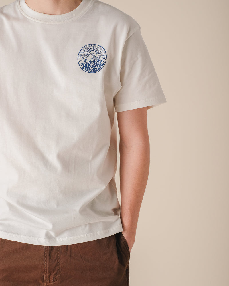 Hikerdelic Core Logo T-Shirt Off White