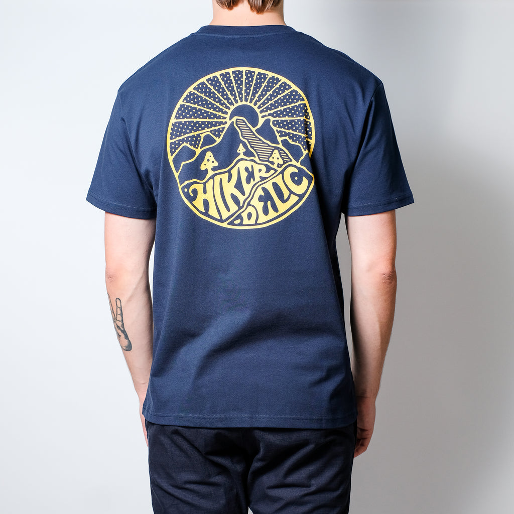 Hikerdelic Core Logo Short Sleeve T-Shirt - Navy