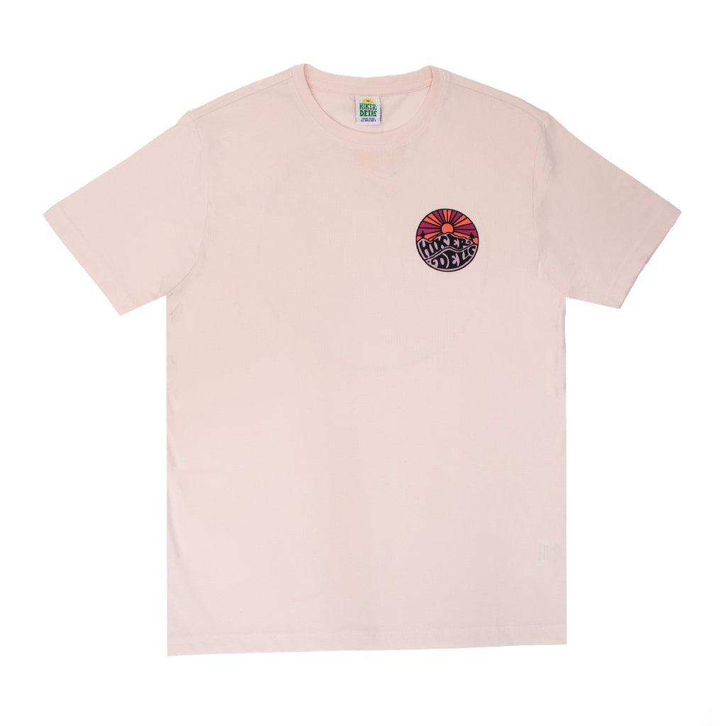 Hikerdelic Original Logo T-Shirt Pink / Cherry Pie - Hikerdelic Shop