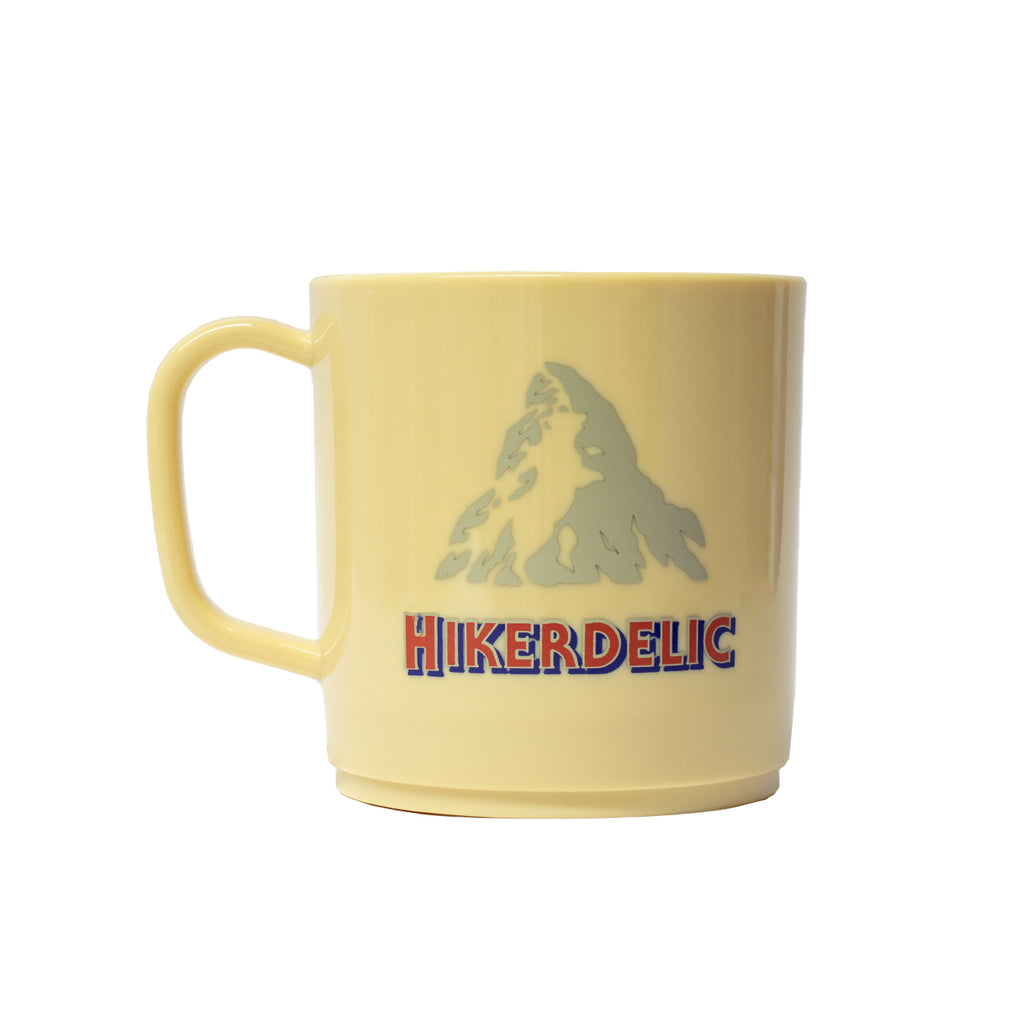 Hikerdelic Chocolate Mountain Mug Yellow