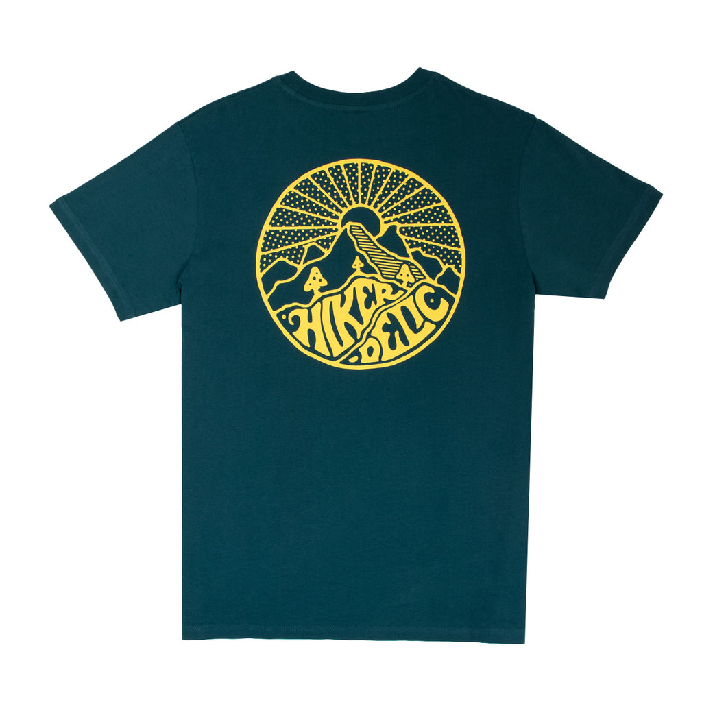 Hikerdelic Core Logo Short Sleeve T-Shirt - Bottle Green