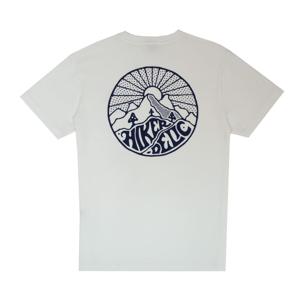 Hikerdelic Core Logo Short Sleeve T-Shirt - White