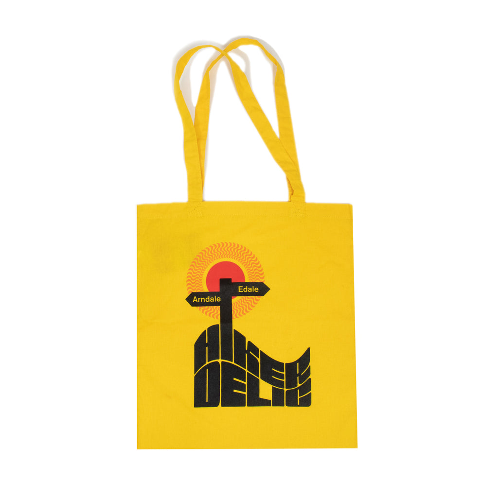 Hikerdelic Dale Tote Bag - Yellow