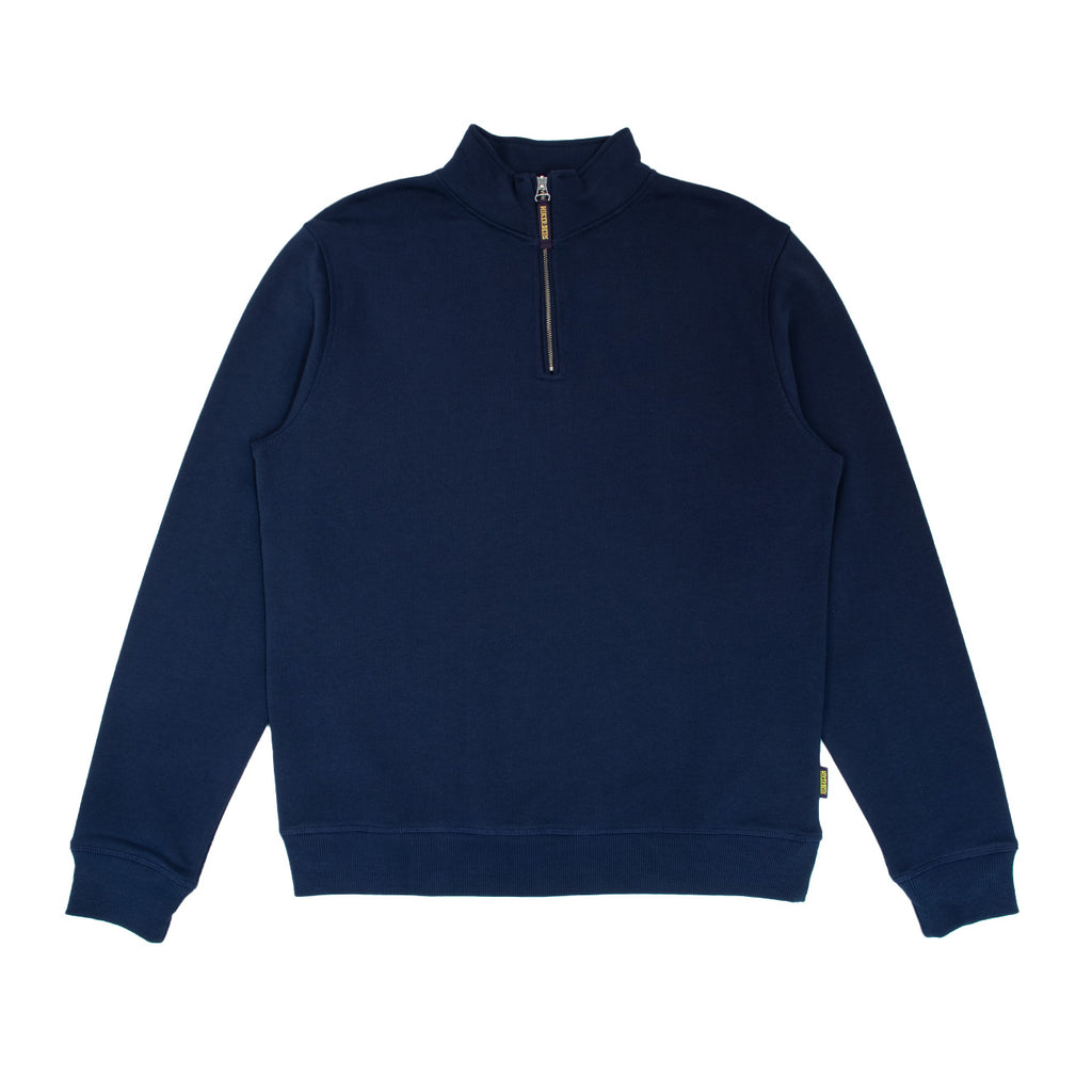 Hikerdelic Dodge Half Zip Sweatshirt - Navy