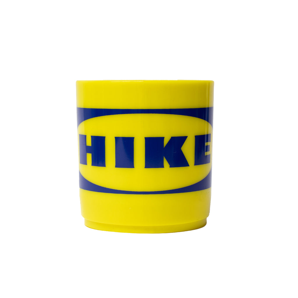 Hikerdelic Hike Home Mug Yellow