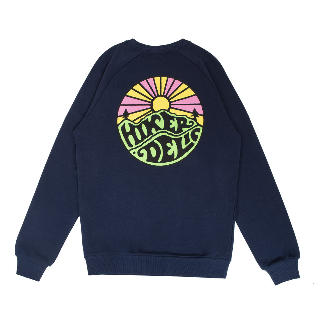 Hikerdelic Original Logo Sweatshirt - Navy