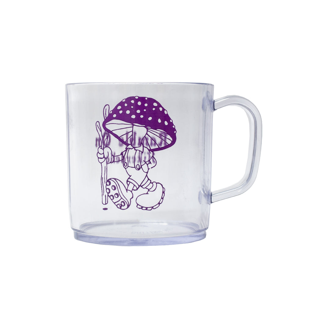 Hikerdelic Ramble On Mug Clear Clear