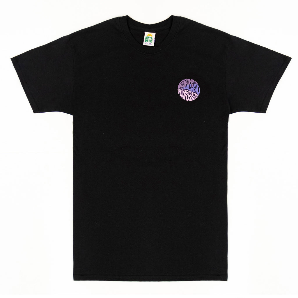 Hikerdelic Tripping The Void T-Shirt - Black