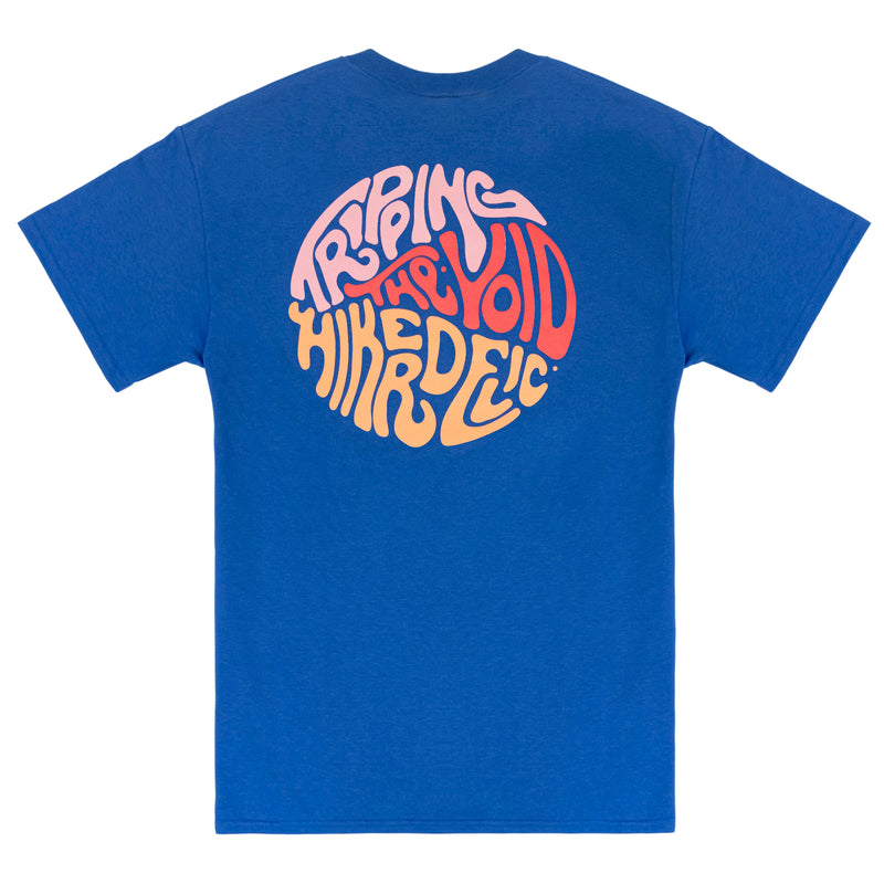 Hikerdelic Tripping the Void T-Shirt - Royal Blue
