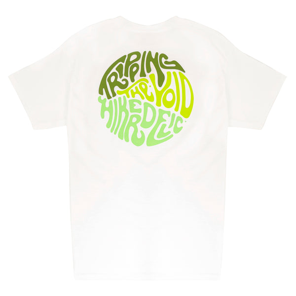 Hikerdelic Tripping the Void T-Shirt White
