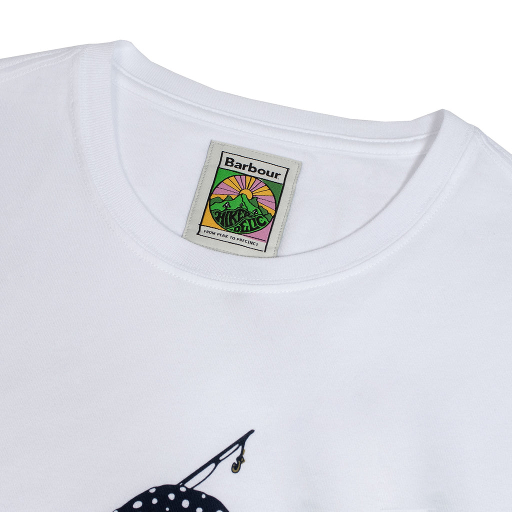 Barbour x Hikerdelic Derek T-Shirt White