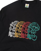 Hikerdelic Japan DDDD T-Shirt Black