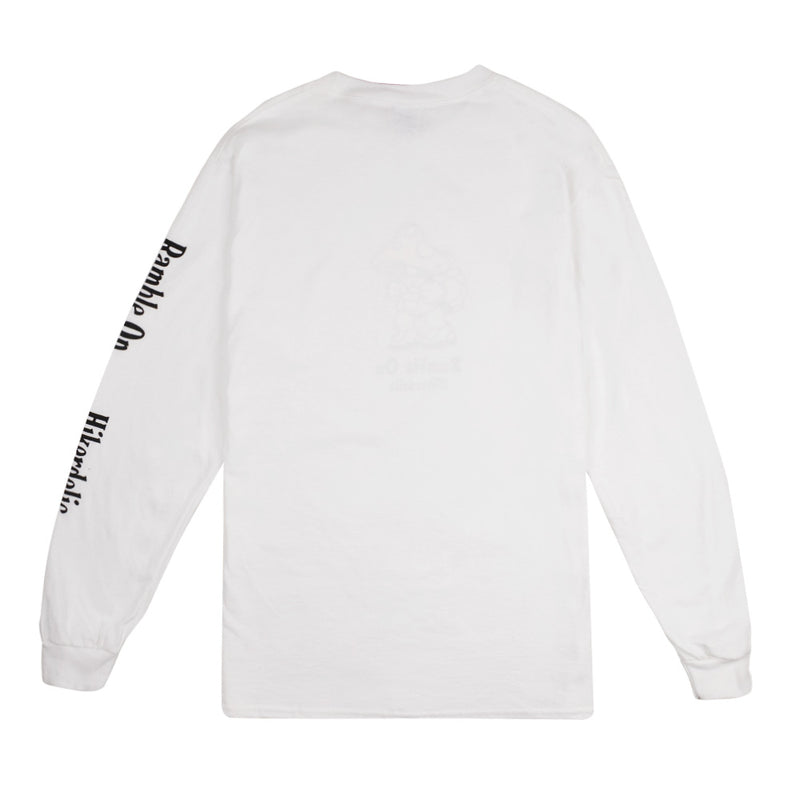 Hikerdelic Eric Long Sleeve T-Shirt White