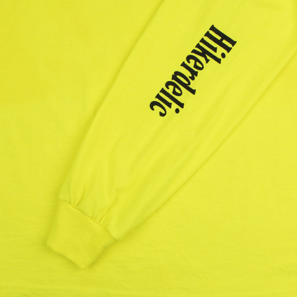 Hikerdelic Eric Long Sleeve T-Shirt Luminous Yellow
