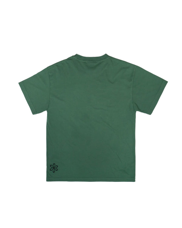 Hikerdelic USA Derek Flower T-Shirt Green