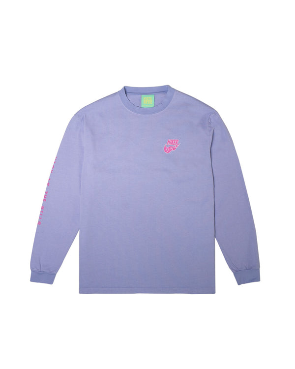 Hikerdelic USA High as the Hills Long Sleeve T-Shirt Lavender