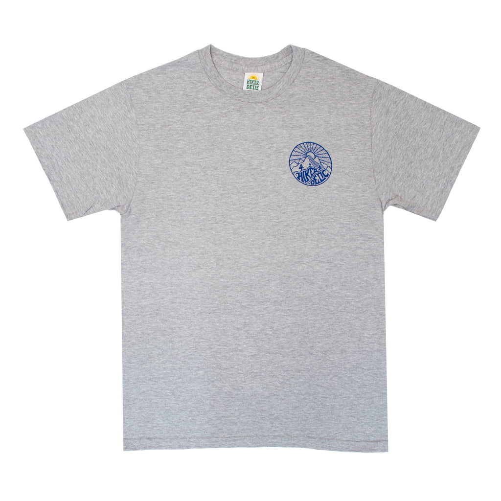 Hikerdelic Core Logo T-Shirt - Grey Marl - Hikerdelic Shop