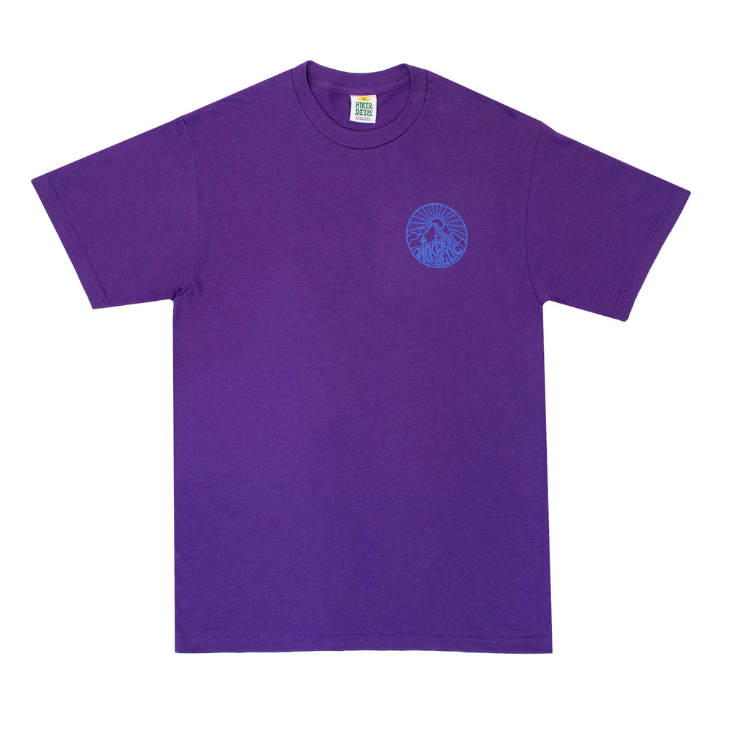 Hikerdelic Core Logo T-Shirt - Purple - Hikerdelic Shop