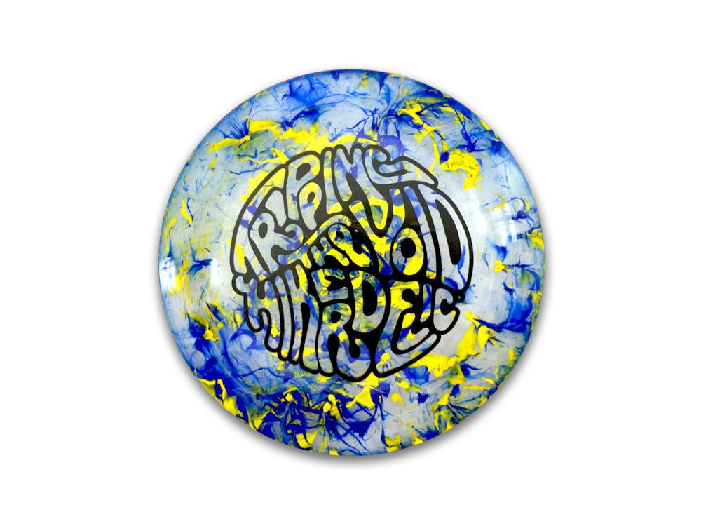 Hikerdelic Flyer - Blue / Yellow - Hikerdelic Shop