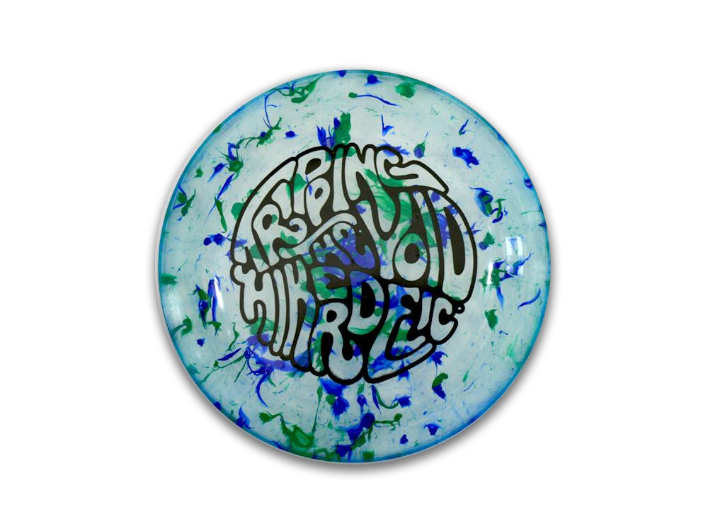 Hikerdelic Flyer - Green / Blue - Hikerdelic Shop