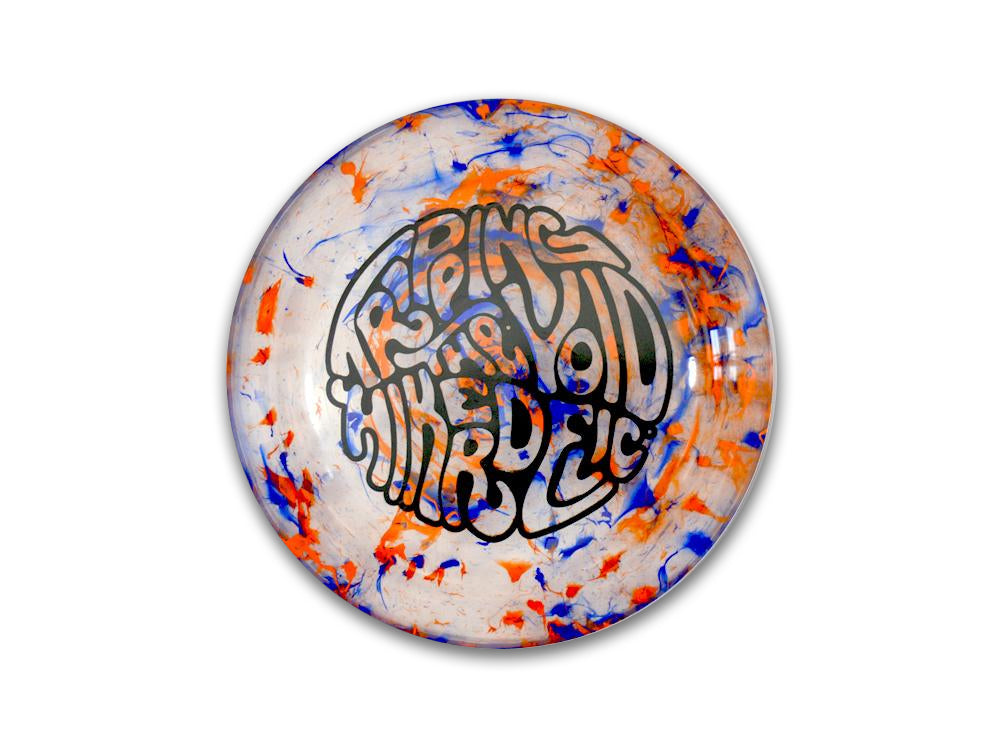 Hikerdelic Flyer - Orange / Blue - Hikerdelic Shop
