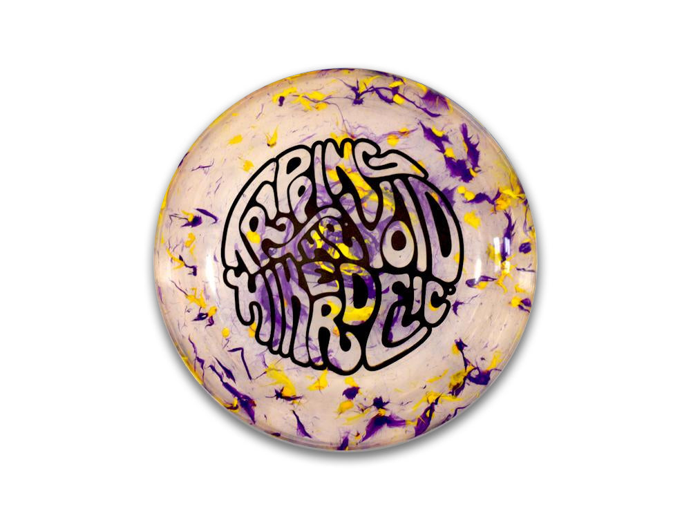 Hikerdelic Flyer - Purple / Yellow - Hikerdelic Shop