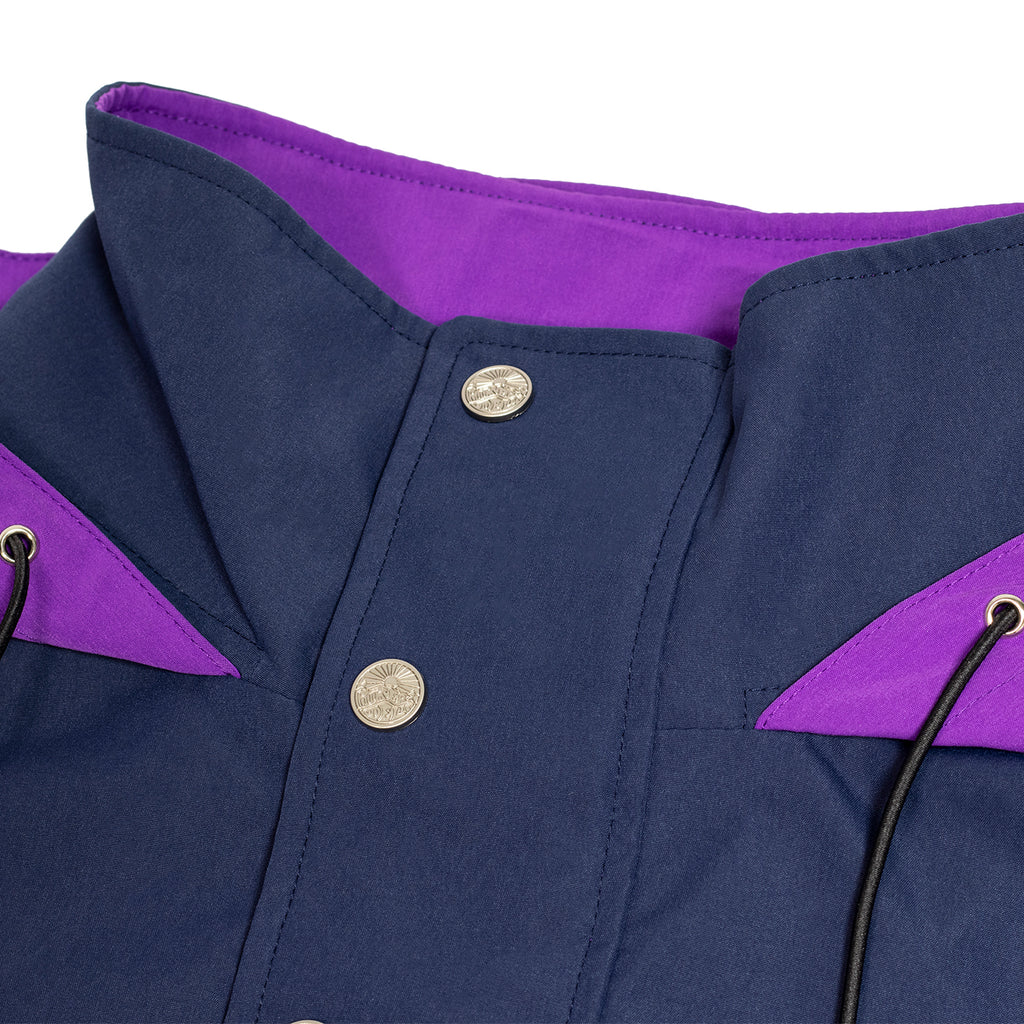 Hikerdelic Dojo Smock Jacket - Navy/Purple - Hikerdelic Shop